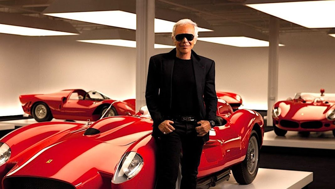 American fashion designer Ralph Lauren $350 million car collection
