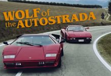 Wolf of the Autostrada and the legendary cars
