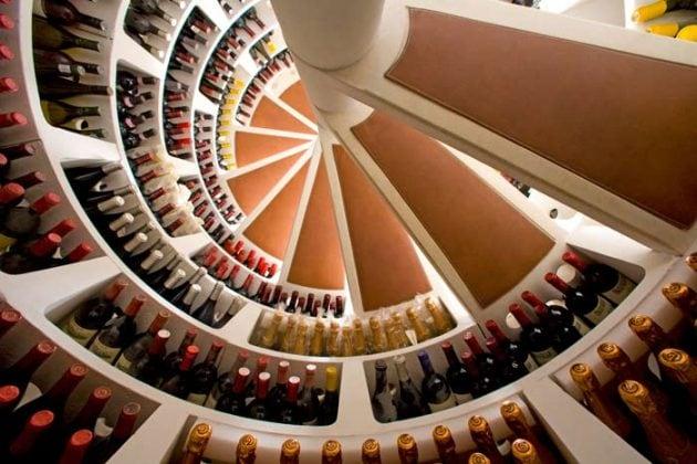 Spiral Cellar interior