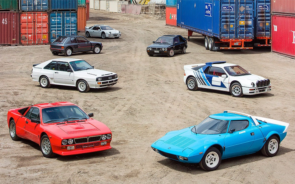 Bonhams Group B Rally Car Collection - Old News Club