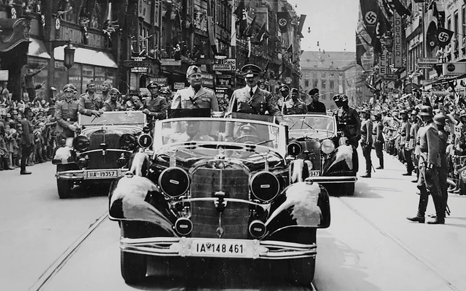 October 1939, Berlin parade.