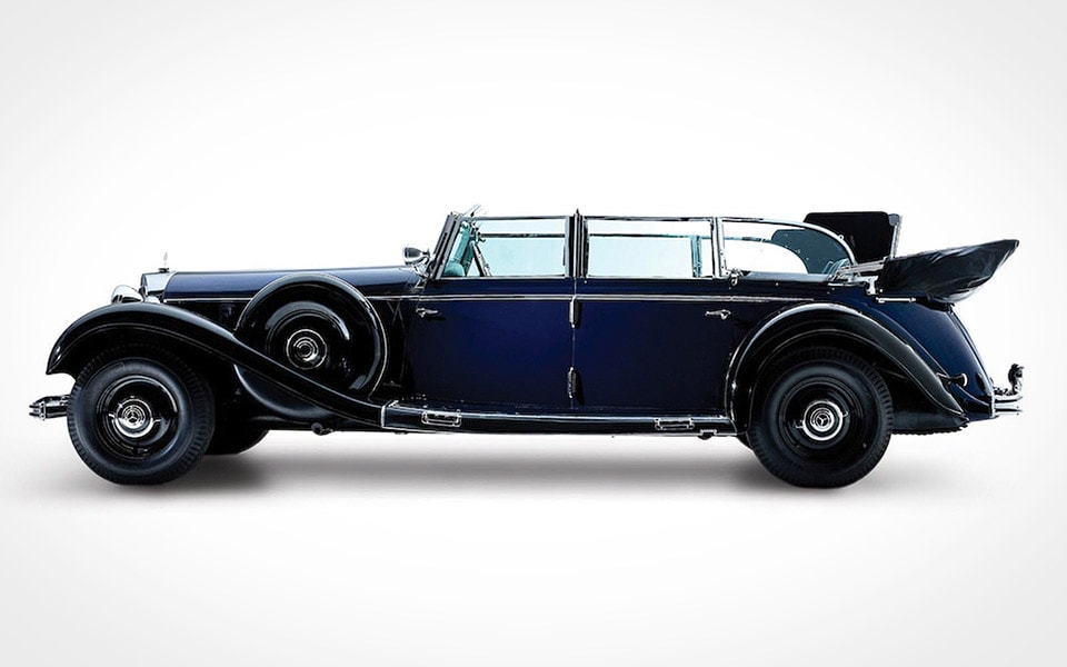 Adolf Hitlers old Mercedes-Benz 770K didn't sell