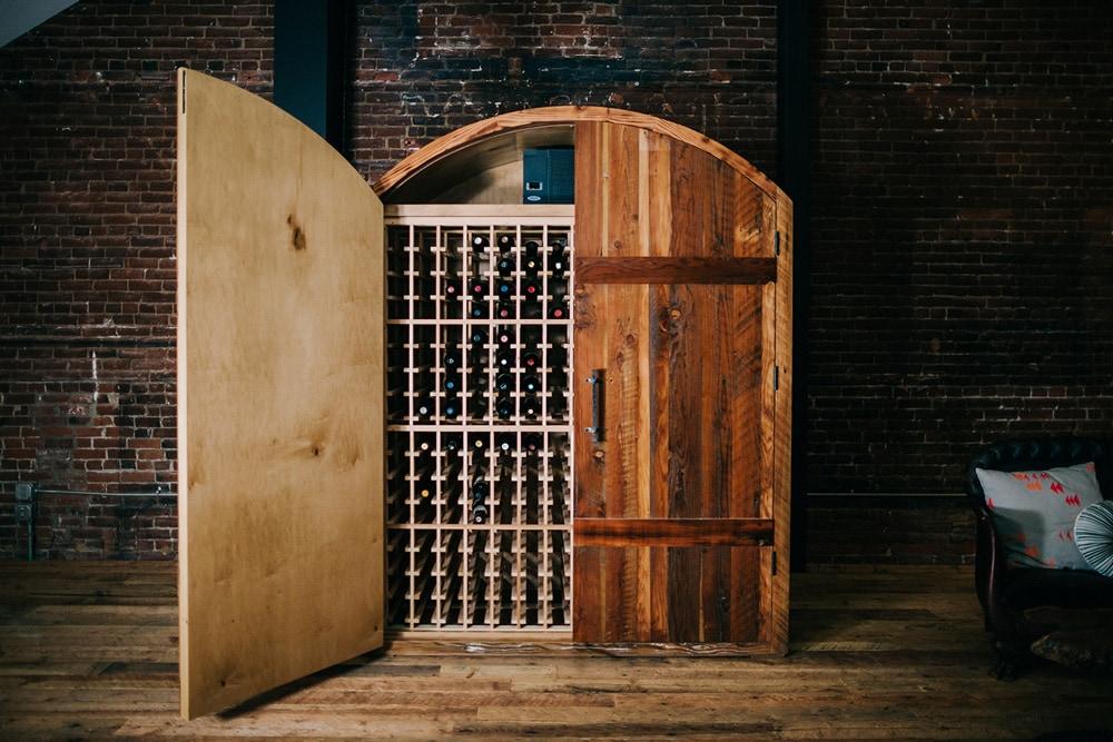 Håndlavet eksklusiv vinopbevaring