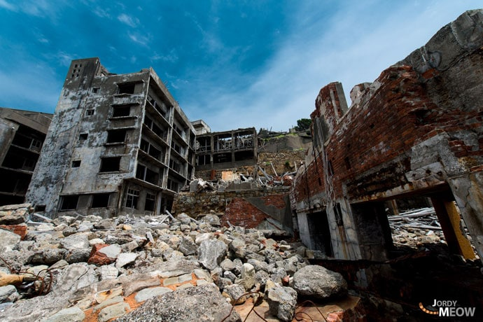 Japan's ghost island of Hashima