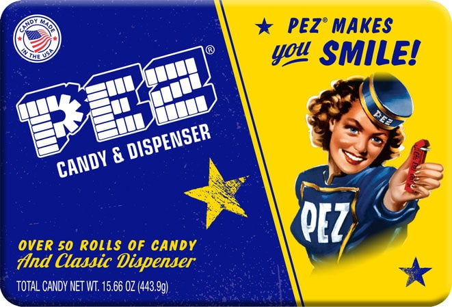 PEZ favorite childhood candy