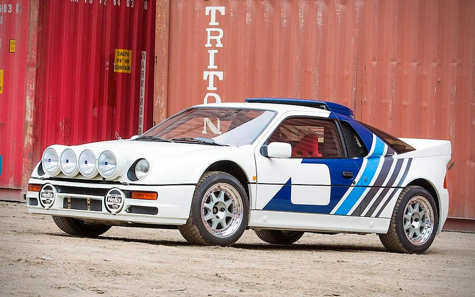 1986 FORD RS 200 EVOLUTION - Sold for $550.000.