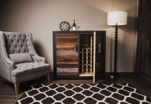Credenza wine storage - Perfect combination of original charm and modern technology