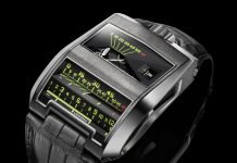 Urwerk's technical masterpiece the UR-CC1