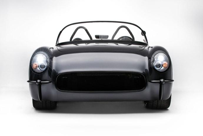 Death Star 1954 Corvette Convertible by Timeless Kustoms