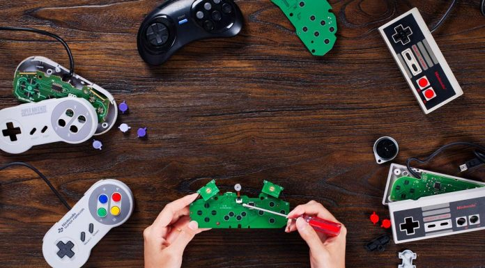 Bringing old gaming controllers to life