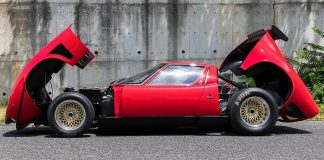 Once a modified Lamborghini Miura.. then toy car and then resurrected