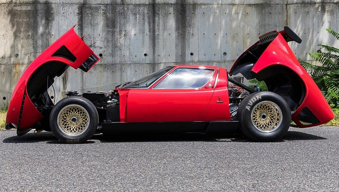 Resurrection Of The World S Only Lamborghini Miura Svr Old News Club