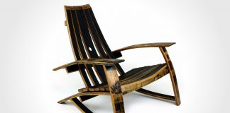The Tennessee Whiskey Barrel Lounge Chair