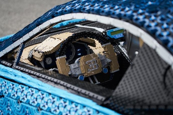 Lego Chiron steering wheel