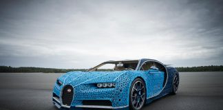 LEGO Builds Bugatti Chiron From 1,000,000+ LEGO Bricks