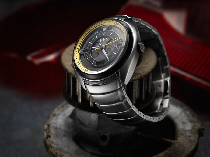They used parts from a Porsche 901 RS to create a limited edition watch