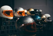 motorcycle retro helmets