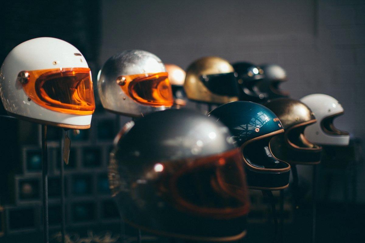 motorcycle retro helmets