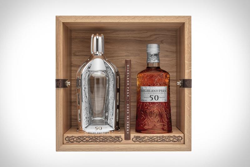 50 Year old Highland Park whiskey tasting