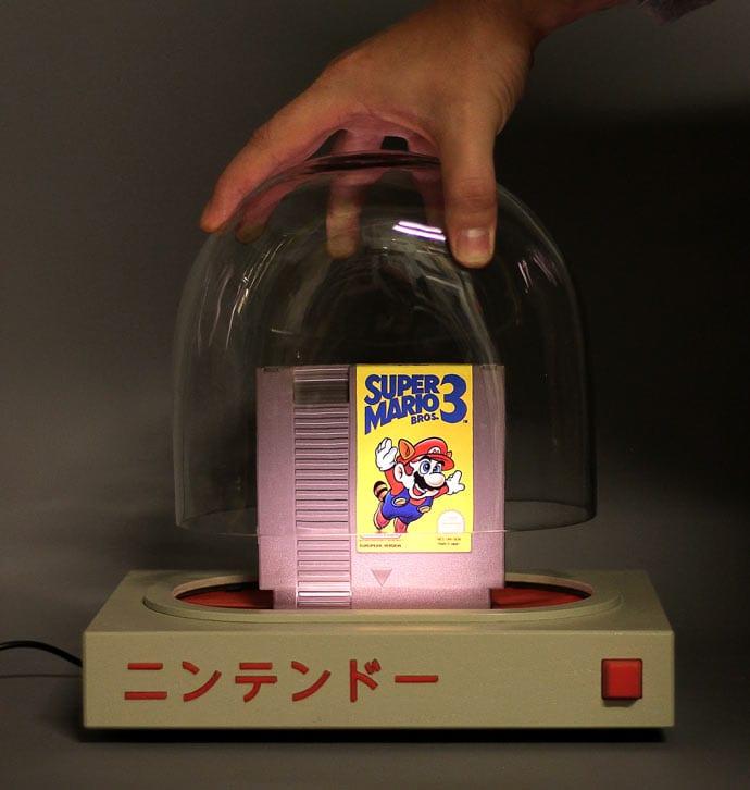 The Pyua with Super Mario 3