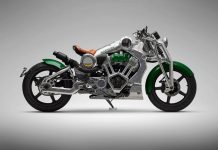 Comeback after 100 years by Curtiss Motorcycle: The Warhawk