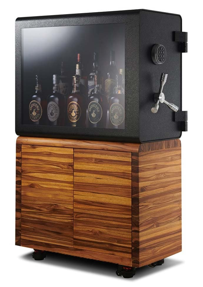 The Whisky Vault both displays and protects your best whisky