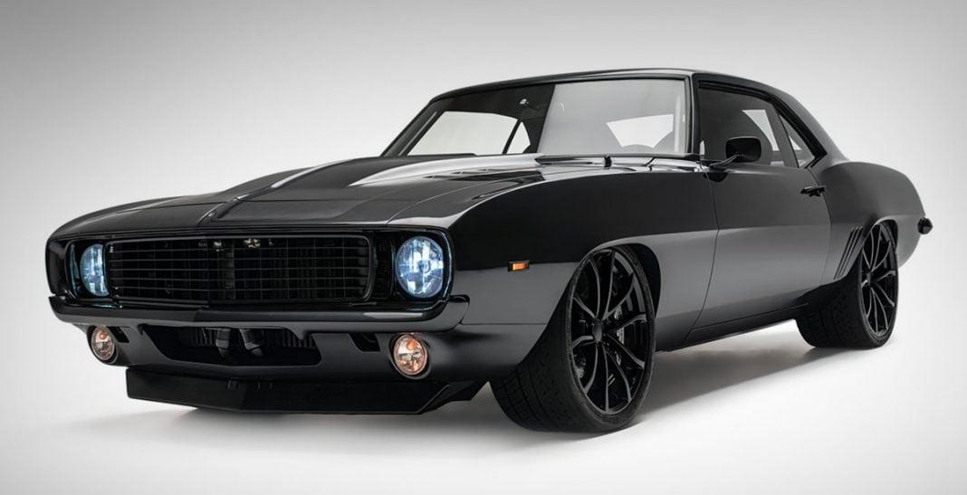 1969 Chevrolet Camaro All Black Masterpiece Old News Club