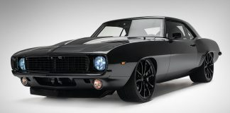1969 Chevrolet Camaro all black masterpiece