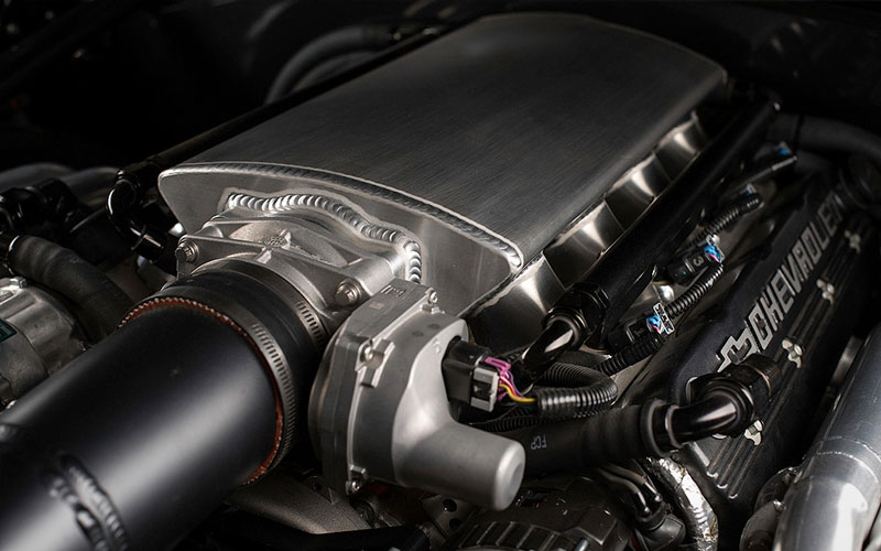 small-block twin-turbocharged 380ci Chevy LSX V8
