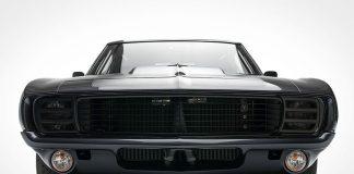 1969 Chevrolet Camaro all black masterpiece