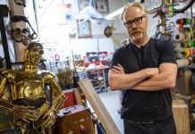 Tour of Adam Savage's Cave