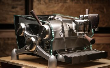 The serious barista's dream machine by Slayer