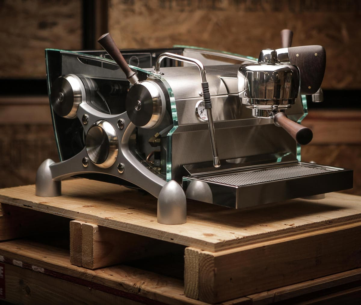 Your personalized espresso machine by Slayer