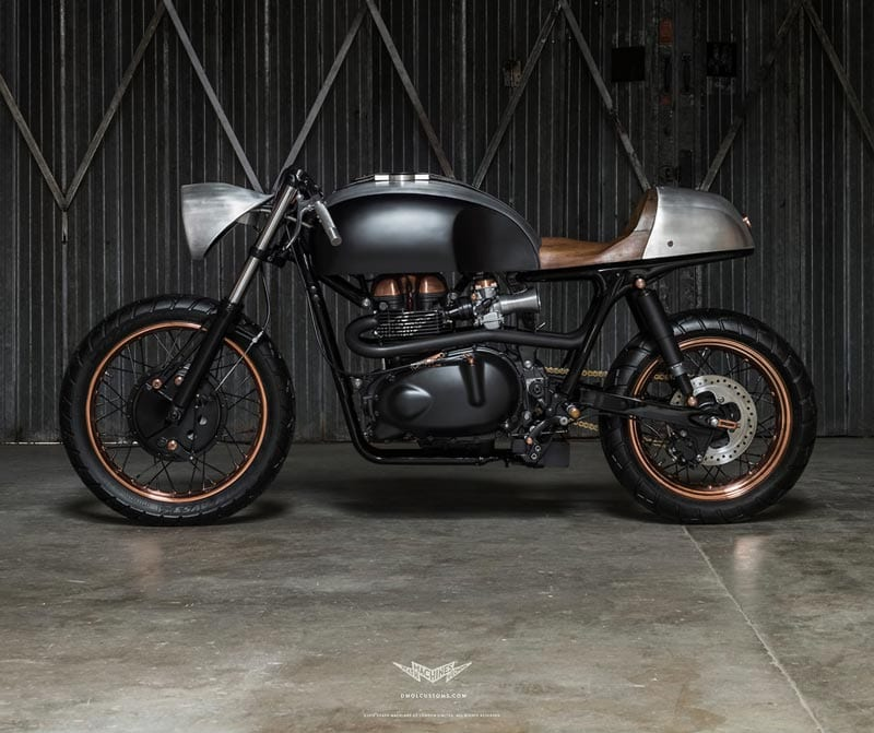Modified Triumph Thruxton 900 by Death Machines of London
