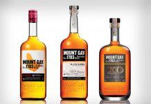 Mount Gay bottles