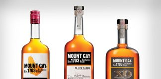 Mount Gay bottles