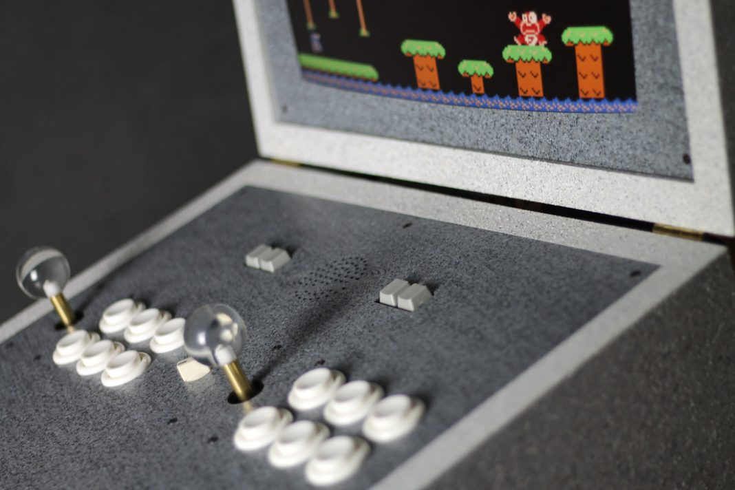 "The luxury arcade machine ""PK42 Limestone Eclipse Edition"
