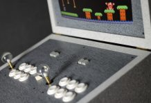 "The luxury arcade machine ""PK42 Limestone Eclipse Edition"""