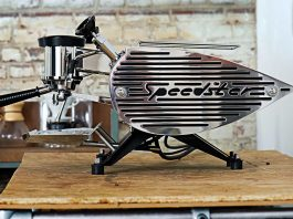 The ultimate machine for the espresso lover