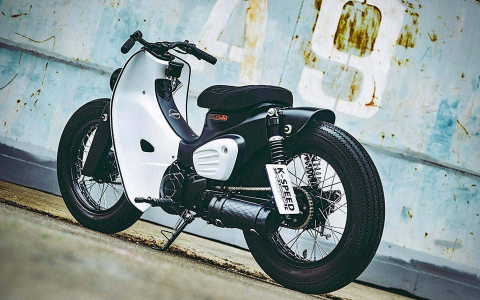 Tribute to the iconic Honda Super Cub by K-Speed