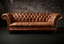 The Kingston Classic Chesterfield Sofa by Fleming Howland