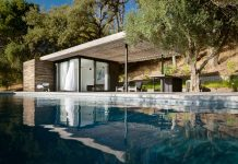 The Dry Creek Poolhouse by Ro Rockett Design