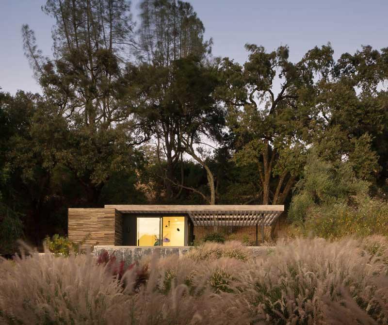 The Dry Creek Poolhouse by Ro Rockett Design