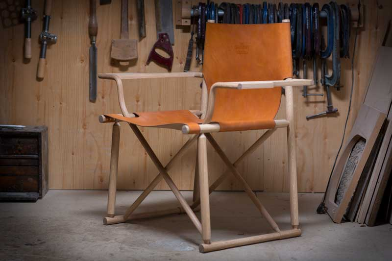 The Glenlivet whisky chair by Gareth Neal