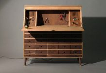 The perfect workbench with vintage appeal