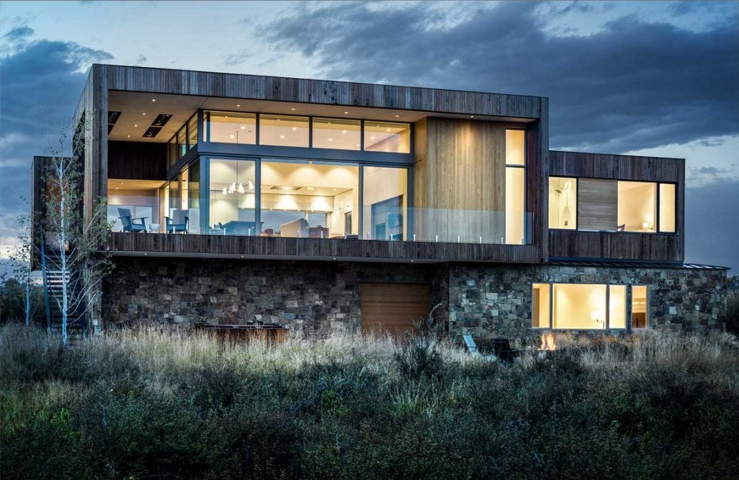 residence on stone walls