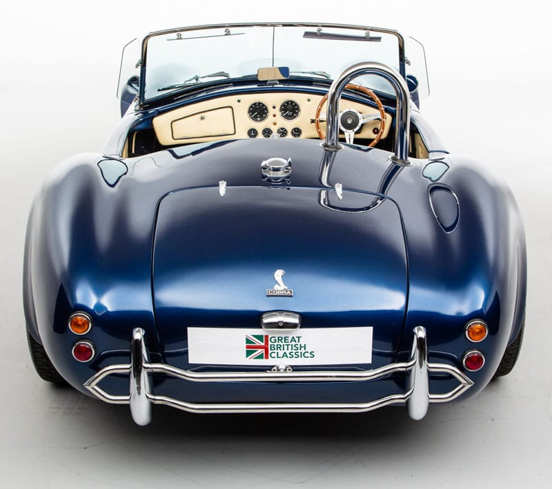 AC Cobra Cobretti from behind