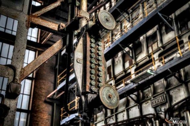 Abandoned ECVB powerplant