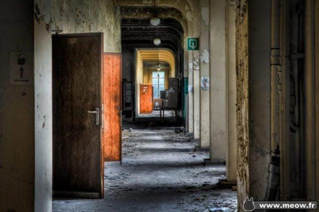 Abandoned university of Val-Benoit