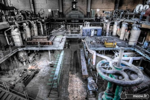 Abandoned industrial places in Belgium